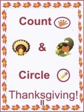 Count & Circle Thanksgiving II