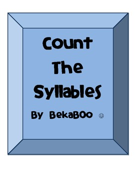 Count & Clap The Syllables