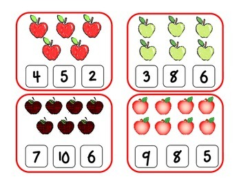 Count & Clip Apples