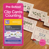 Count Clip Cards 1-10