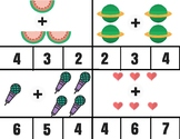 Count & Clip Math Cards - Addition