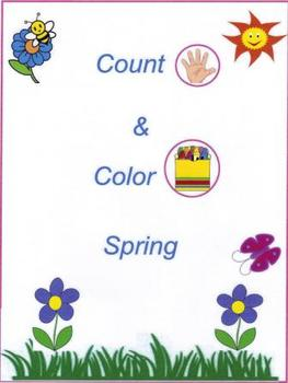 """""""Count & Color Spring!"""""""