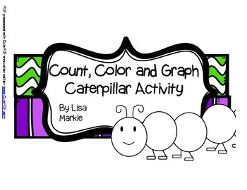 Spring Caterpillar Counting Activity