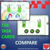 Count Comparing Objects Within 10 St. Patrick's Day Boom Cards