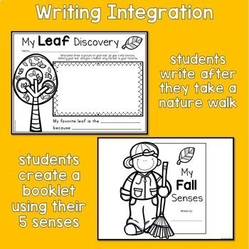 Count Down to Fall - Literacy Activities for the Autumn Season