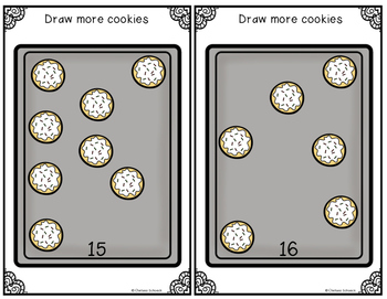Count, Draw, & Wipe {Cookie Themed}