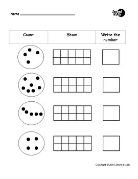 Count, Draw, Write