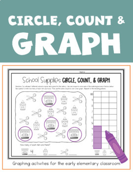 Count & Graph:  Activities for the Early Elementary Classroom
