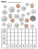 Count & Graph Coins Worksheet