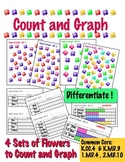 Count & Graph - Differentiate! - Common Core Measurement & Data