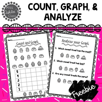 Count It, Graph It, Analyze It! Math Worksheets for February