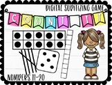 Count It: Subitizing Numbers 11-20 Digital Game