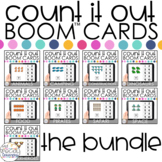 Count It Out Books Boom™ Cards BUNDLE: Distance Learning f