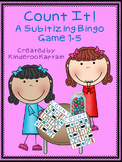 Count It! Subitizing Bingo Game 1-5