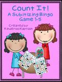 Count It! Subitizing Bingo Game 1-5
