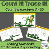 Count It Trace It! Counting Shamrocks and Writing Numerals
