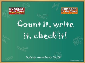 Count It, Write It, Check It Mimio