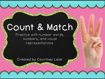 Count & Match - No Prep Math Center