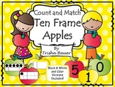 Count & Match Ten Frame Apples