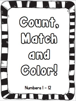 Count, Match and Color!