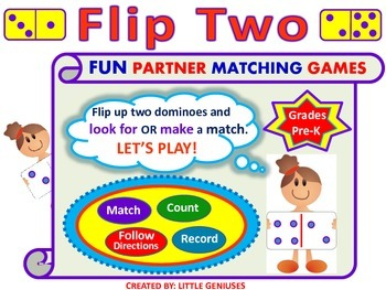 Count and Match with Dominoes in Kindergarten and Grade One