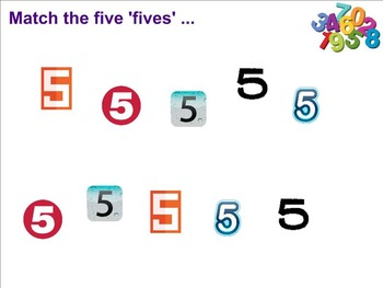Count Matchers 1 to 9