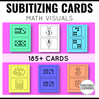 Count Me In! Subitize Visual Math Cards 1-10