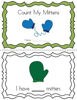 Count My Mittens: Emergent Printable Reader