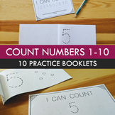 Counting Numbers 1-10 Booklets