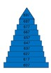 Count Off the Decade Hundred Pyramids 1-1000