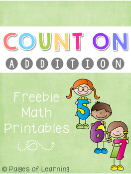 Count On Addition Freebie
