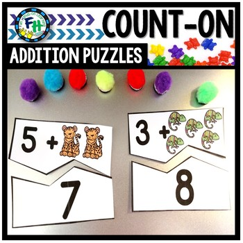 Count On Addition Puzzles