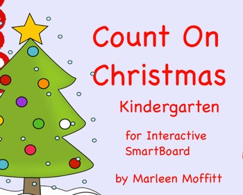 Count On Christmas for Interactive SmartBoard