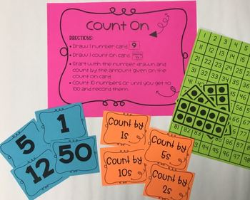 Count On - Counting Numbers to 100