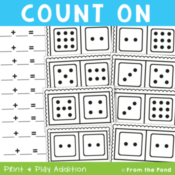 Counting On - Addition Math Packet for the Count On Strategy