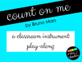 Count On Me - [Instrument Play-Along]
