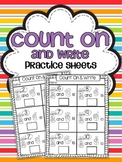 Count On & Write Practice Sheets