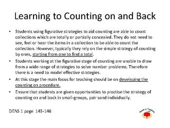 Count On and Back & Numbers Before and After