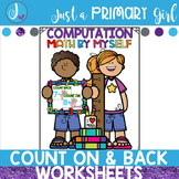 Count On and Count Back Worksheets