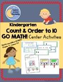 Count & Order to 10 - GO MATH! Kindergarten Center Activities