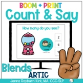 Count & Say Articulation for Blends:  Sweets BOOM Digital + Print