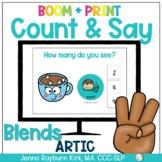 Count & Say Articulation for Blends: Winter BOOM Digital + Print