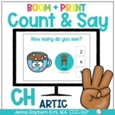 Count & Say Articulation for CH Sound: Winter BOOM Digital