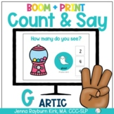 Count & Say Articulation for G Sound:  Sweets BOOM Digital