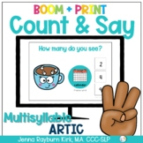 Count & Say Articulation for Multisyllable Words: Winter B