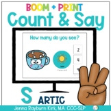 Count & Say Articulation for S Sound: Winter BOOM Digital + Print