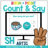 Count & Say Articulation for SH Sound: Winter BOOM Digital