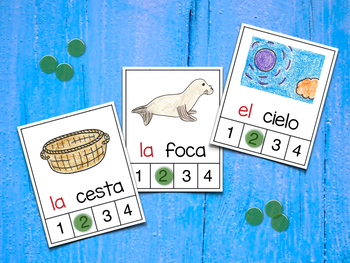 Count Syllables in Spanish - ¡Cuenta sílabas! (Polifacéticas C)