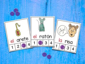 Count Syllables in Spanish - ¡Cuenta sílabas! (Polifacéticas R)