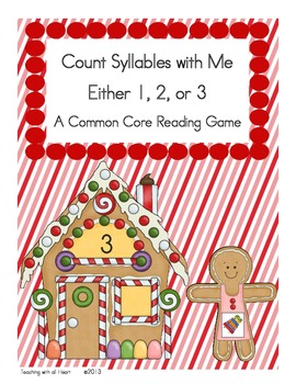 Count Syllables with Me: Either 1, 2, or 3